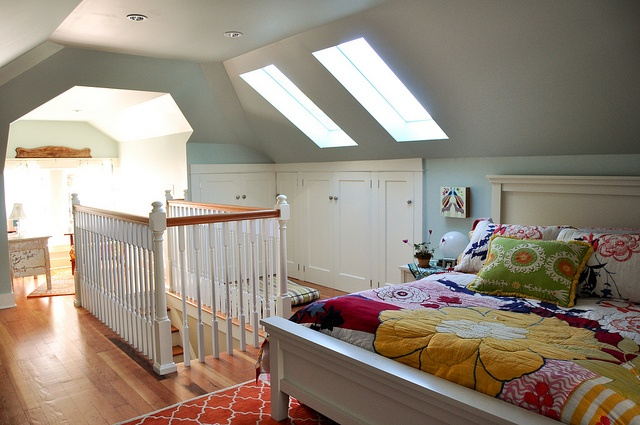 Attic Remodeled Into Master Bedroom Bath I Like This Idea Or Maybe As A Guest Room Play Room
