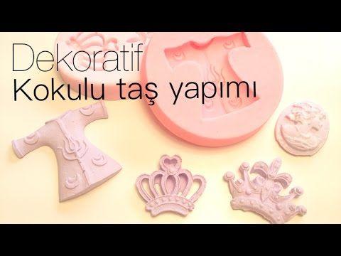 DEKORATİF KOKULU TAŞ YAPIMI - YouTube