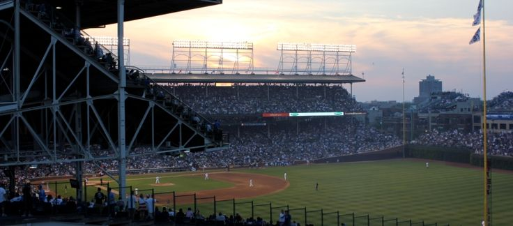 There are 3 Wrigleyville Rooftop facilities, 2 located on Sheffield Ave. and 1 located on Waveland Ave. Their 3609 Sheffield rooftop facility is located furthest to the right on the first base line on Sheffield Ave.