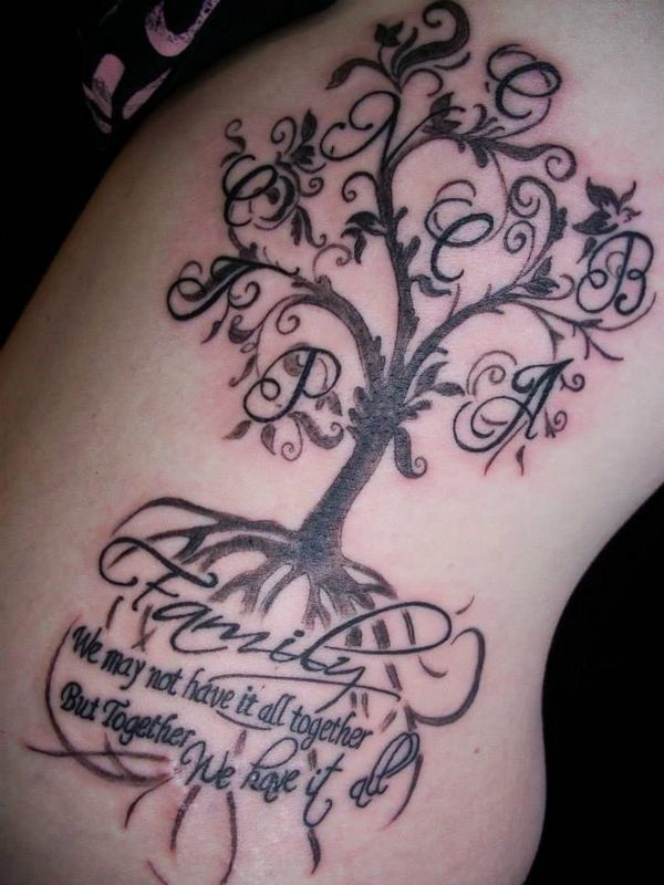 163 Perfect Family Tattoos And Family Tree Tattoos cool