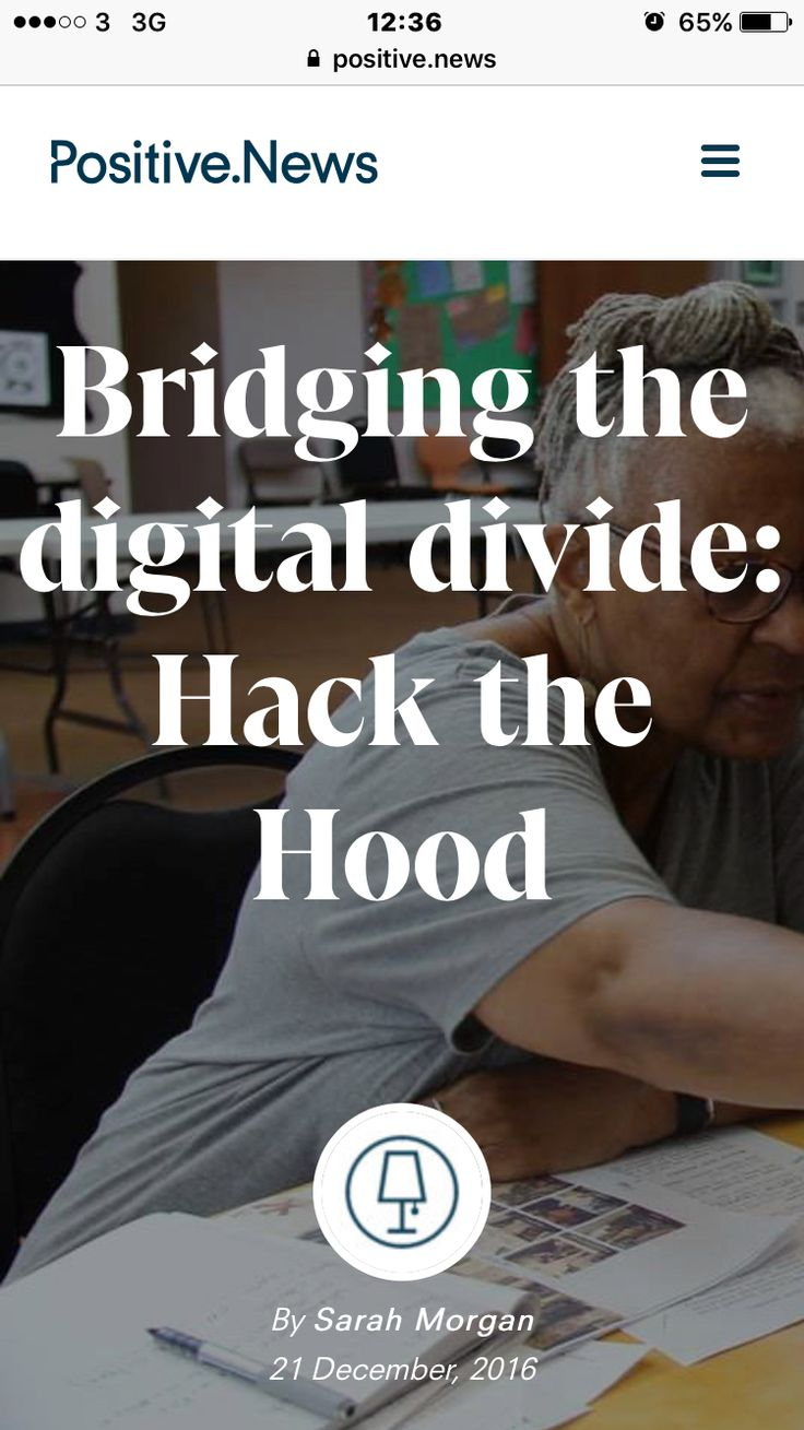I think this is amazing!! It's a great way to get young people to learn valuable IT skills!   https://www.positive.news/2016/science/technology/24714/bridging-digital-divide-hack-hood/