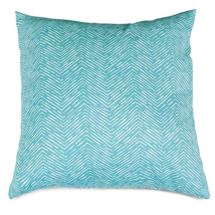 Majestic Home Goods 85907220893 Teal Navajo Large Pillow 20x20