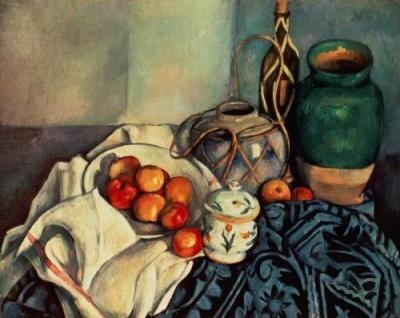 Still Life with Apples, 1893  Artist: Paul Cezanne