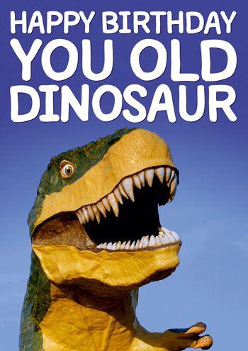 You Old Dinosaur
