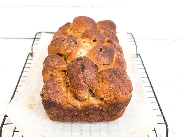 Spiced Fruit Brioche Monkey Bread
