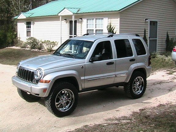 Lifted 2005 Liberty | Another jerryandmyrtie 2005 Jeep Liberty post...