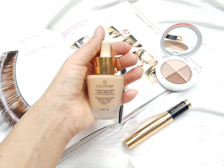collistar makeup, nude makeup, serum foundation perfect nude spf15, tekutý podklad  http://www.elimakeupartistblog.com/testovanie-noviniek-collistar/