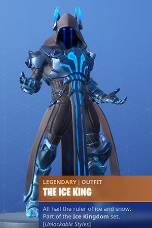 This Is The Ice King At Tir 100 Battle Pass Skin In