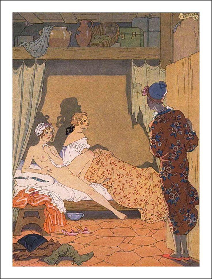 George Barbier (1882 – 1932). Choderlos de Laclos: Les Liaisons dangereuses, 1782. Le Vasseur et Cie, Éditeurs, Paris, 1934.[Pinned 30-ix-2015]