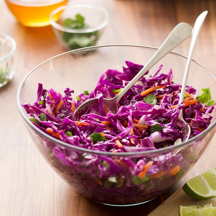 Emily's Honey Lime Coleslaw Recipe -My bro is a superb cook. I won't attempt to improve on his slaw but I will offer one of my own! May the best sibling—and slaw—reign at our next reunion. —Emily Tyra, Milwaukee, Wisconsin