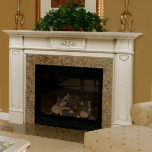 Pearl Mantels Monticello Wood Fireplace Mantel Surround - Fireplace Surrounds at Hayneedle