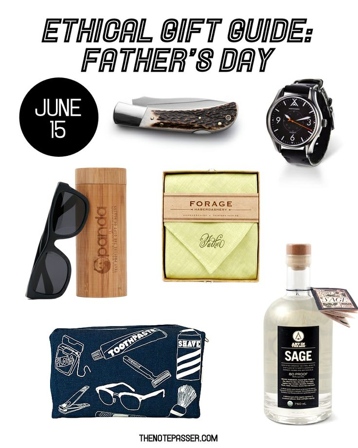 Ethical Gift Guide: Father's Day | thenotepasser.com