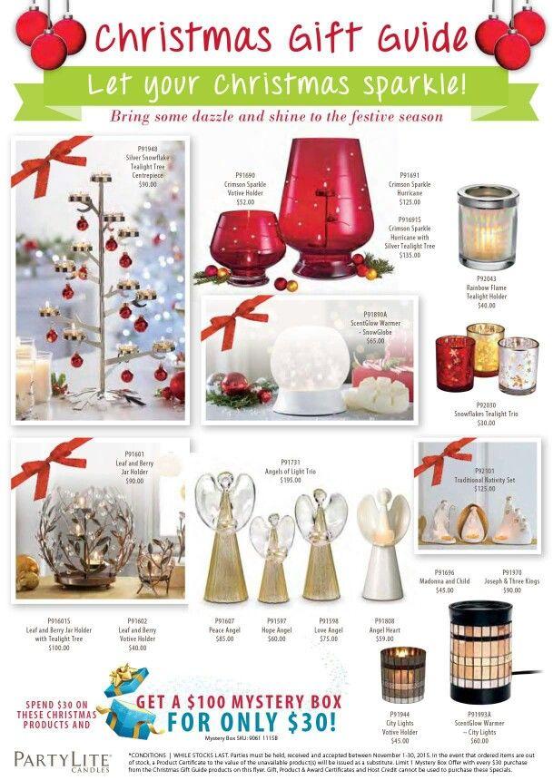 November & December specials.