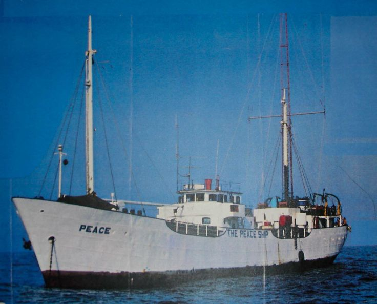 Voice of Peace ship with Abe Nathan