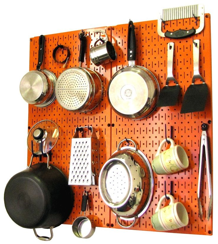 wall control kitchen pegboard organizer pegboard storage on wall control id=46820
