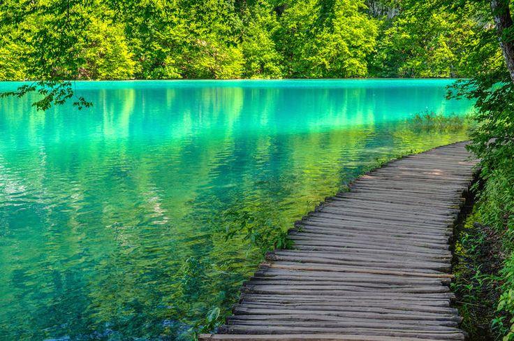 Les lacs de Plitvice en Croatie