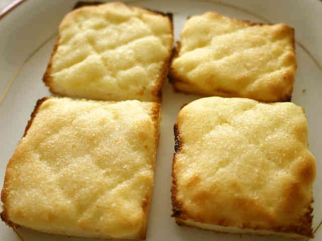 朝食♪おやつに♫ メロンパントースト♡の画像