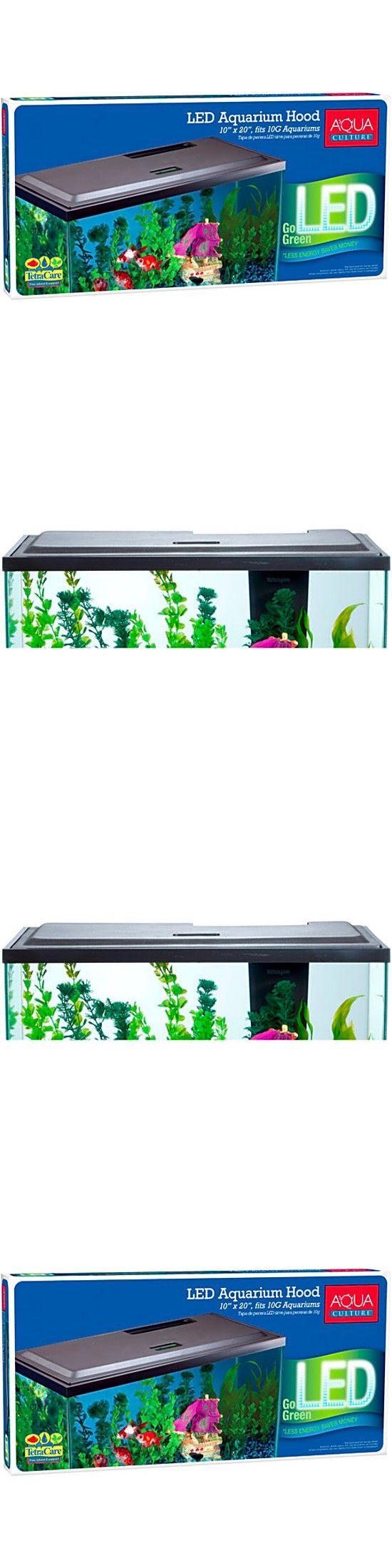 Aquarium fish tank ebay - Aquariums And Tanks 20755 Aqua Culture Led Hood For 10 Gallon Aquariums New Free Shipping