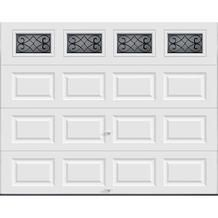 Ideal Door 9' x 7' Designer Windows Tuscany Special Order Garage Doors from Menards $729.00