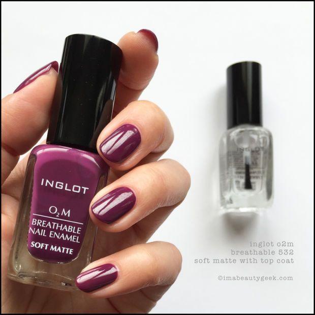 Inglot O2M Breathable Nail Polish 532