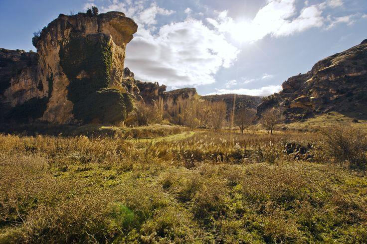 Un paisaje idílico: la hoz del río Gritos/An idyllic landscape: Gritos river's gorge #DescubreCuenca