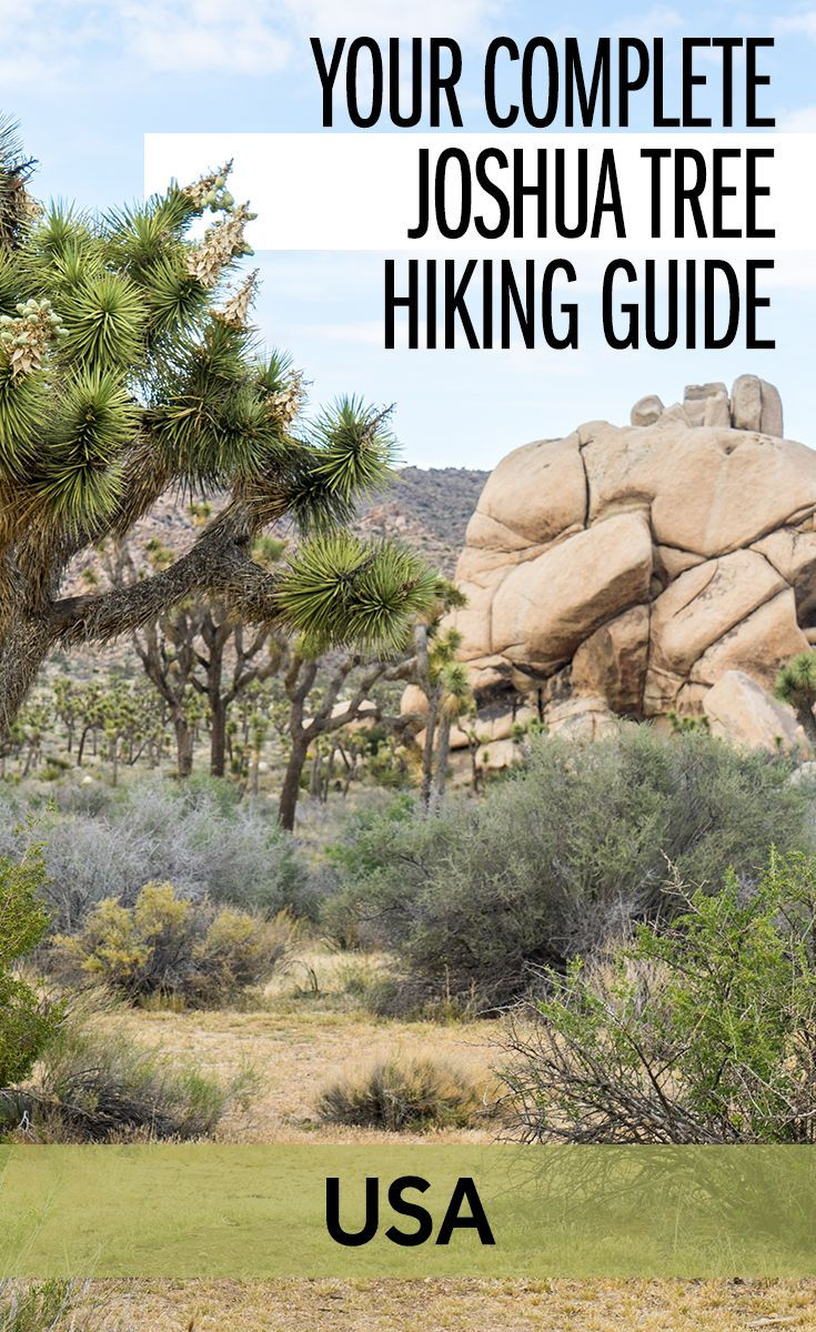 There are lots of things to do in Joshua Tree National Park, but I think the best activity is hiking. There are some great hikes to do in Joshua Tree and so I've put together this complete guide for hiking, with trail details and suggestions for how to spend 2 days in Joshua Tree National Park, California, USA.