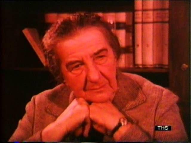 MUST WATCH: Straight Talking Golda Meir