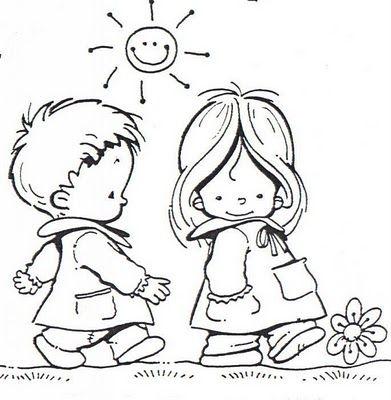 Mi colección de dibujos: ♥ Niños en el colegio♥