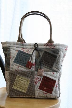 Patchwork Bag squares could be pockets