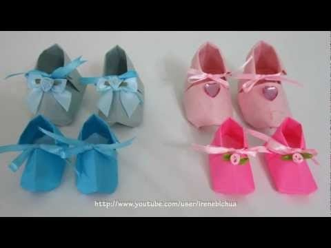 TUTORIAL - Christening Shoes
