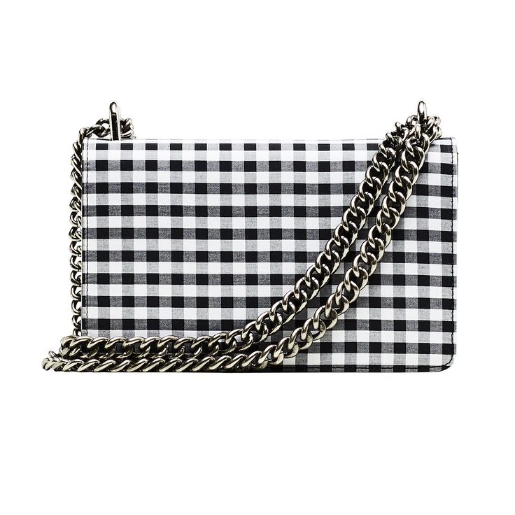 NAKEDVICE - The Chain Bag Gingham