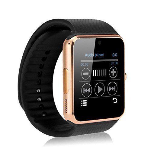 Bluetooth Smart Watch iOS Android 2Mp Camera Sim Pedometer Sleep Tracker NEW #SmartWatchiOSAndroid