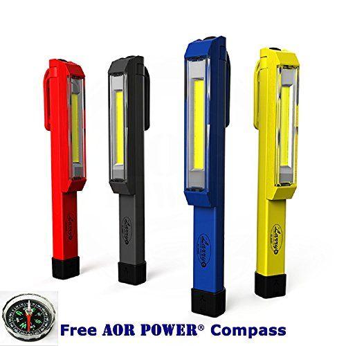 AOR Power Nebo #6327 Larry C COB LED Work Light Magnetic Clip High-power 170 Lumen COB Led, Yellow, Red, Black, Blue 4-pack AOR POWER http://www.amazon.com/dp/B018V16MQA/ref=cm_sw_r_pi_dp_5wZAwb0PADRFX