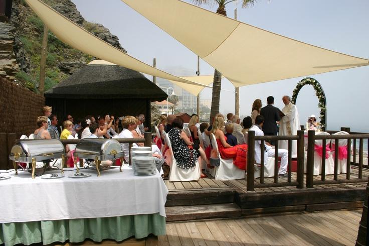 Beautiful Wedding Blessing at Luna Beach Club.