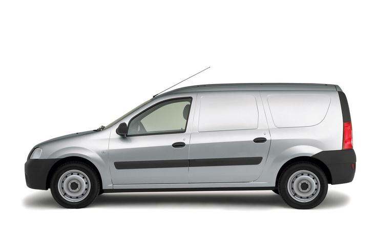 Dacia Logan Van 1.6 specificaties   Auto vergelijken - AutoWeek.nl