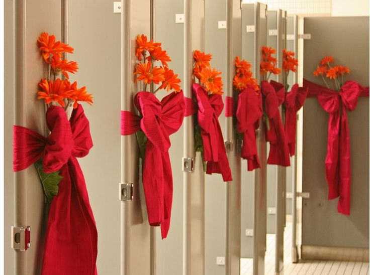 Decorated Bathroom Wedding Venue Here Is A Few Photo 2718407 1 Decorations Pinterest Venues Weddings And
