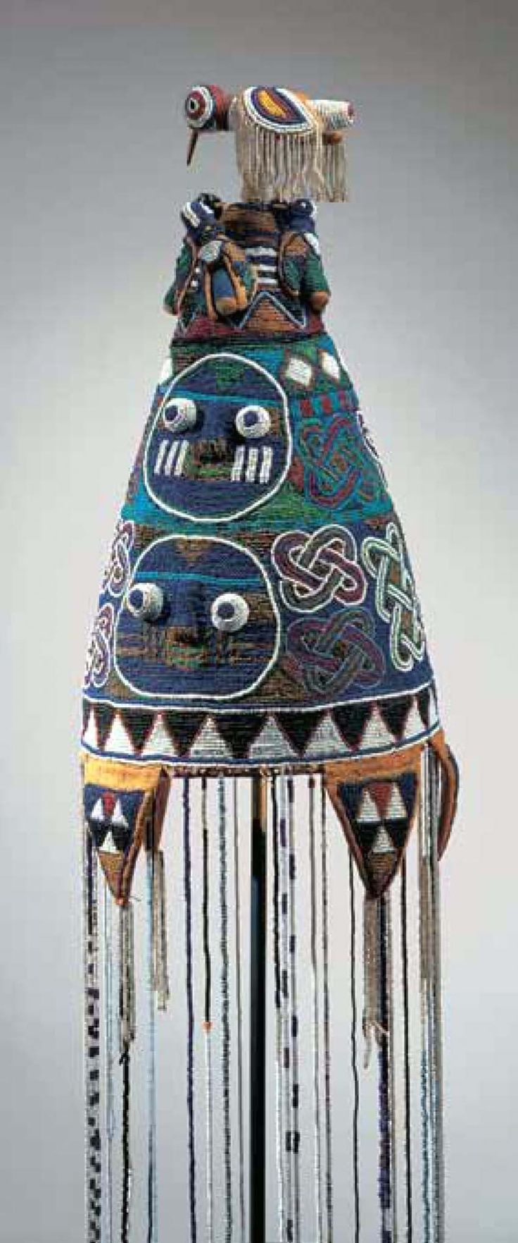 Yoruba Ade Oba (Adenla) (King's Beaded Crown), Nigeria http://www.imodara.com/post/99254829824/nigeria-yoruba-ade-oba-kings-crown-adenla