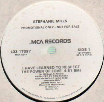 Stephanie Mills - I Have Learned To Respect The Power Of Love (Vinyl) at Discogs