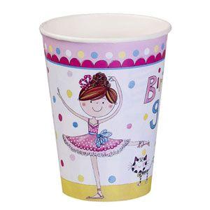 Q50887 - Rachel Ellen Ballerina Cups Please note: approx. 14 day delivery time. www.facebook.com/popitinaboxbusiness