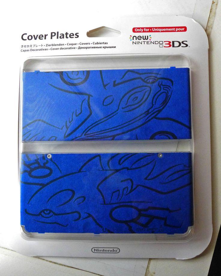 Nitendo 3DS Pokemon cover Plates new #Nintendo