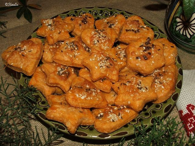 Katalin konyhája: Sajtos keksz