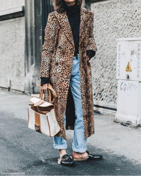 tendenza animalier | cappotto leopardato