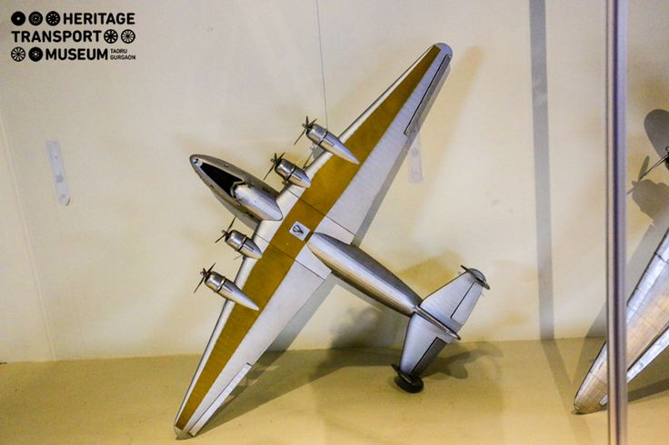 This impeccable model of the fighter plane is part of the aviation section of the museum that showcases models of early war planes!