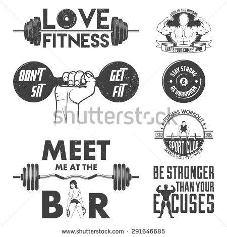 Las 25 mejores ideas sobre logo de gimnasio en pinterest for Gimnasio 8 de octubre
