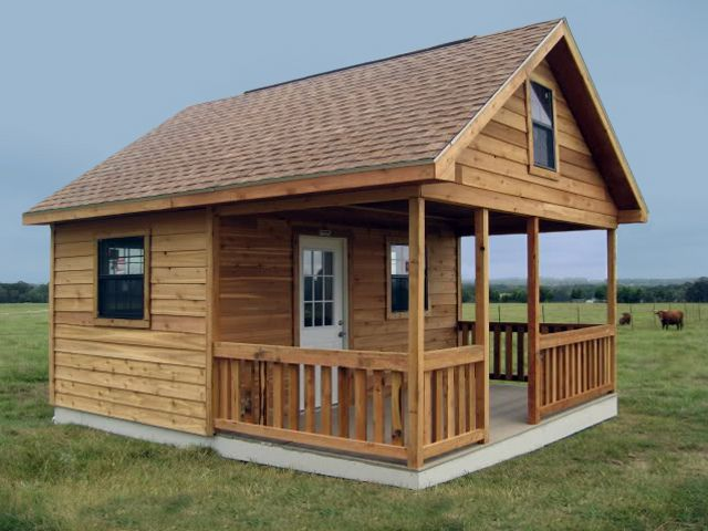 Tuff Shed Pro Weekender Ranch 16x20 Guest House