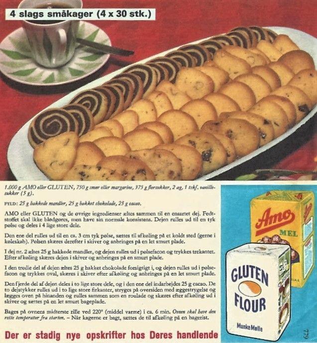 4 slags småkager nr 779