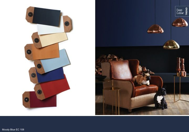 Plascon   Colour & Inspiration   Colour Forecast - love the idea of the colours on the brown paper tags