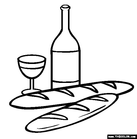 43 best images about embroidery patterns on pinterest hand embroidery  stitches and embroidery Wine Bottle Coloring Page  Bread And Wine Coloring Pages
