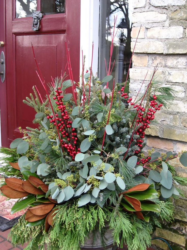 winter containers spaces traditional with container