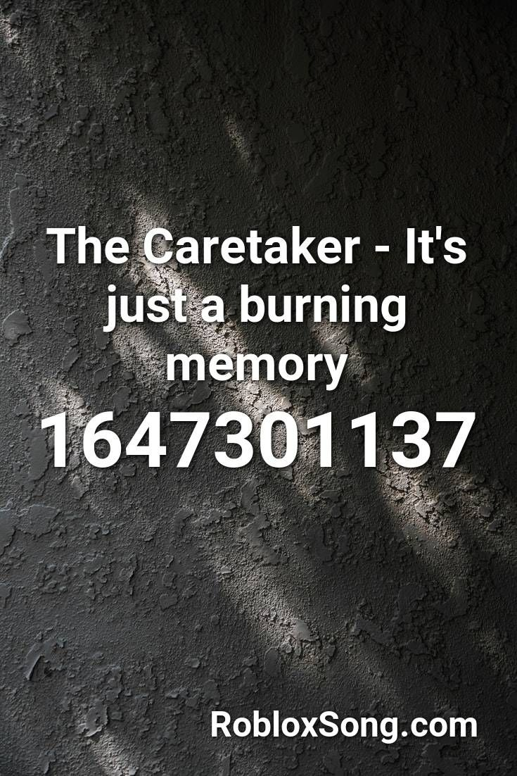 Pin By Maddielawrence On Id Codes Memories Roblox Caretaker